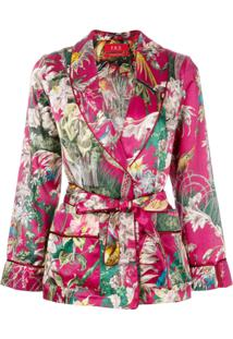 F.R.S For Restless Sleepers Blazer Floral - Rosa
