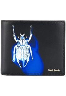 Paul Smith Carteira Com Estampa Logo - Preto