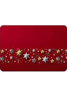 Tapete Sala Love Decor Natal Elegante Vermelho
