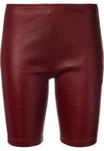 Manokhi Bermuda Slim - Vermelho