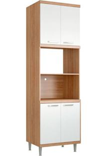 Módulo Para Forno 5120 Sicília - Multimóveis - Argila Acetinado / Branco Acetinado