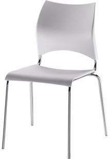 Cadeira Em Polipropileno Branco 12273 - Sun House