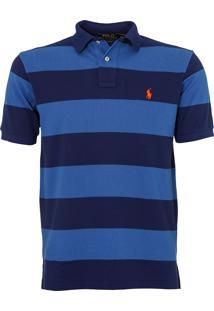 Polo Ralph Lauren Listrada Striped Azul Marinho