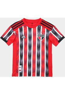 Camisa São Paulo Infantil Ii 19/20 S/Nº Torcedor Adidas - Masculino