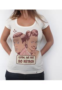 So Retro - Camiseta Clássica Feminina