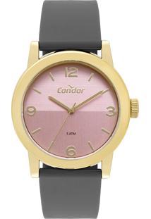 Relógio Analógico Condor Feminino - Co2035Mqs/8J Dourado