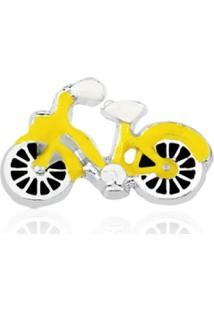 Pingente Folheado Cápsula Conquistas Bicicleta