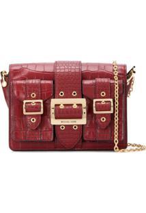 Michael Michael Kors Hayden Shoulder Bag - Vermelho
