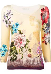 Etro Suéter Floral - Neutro