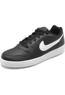 Tênis Nike Sportswear Ebernon Low Preto/Branco