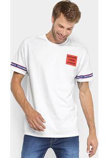 Camiseta Manga Curta Colcci Estampada Escape From Caos Masculina - Masculino