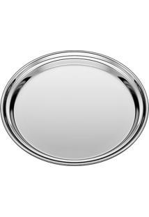 Bandeja Redonda- Inox- 9Xã˜40Cm- Euro Homewareeuro Homeware
