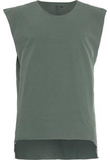 Blusa Masculina Sleeveless Eco Cuts Soft - Verde