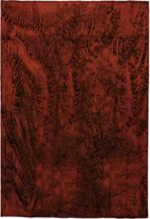 Tapete Felpudo Sala Ou Quarto Pelo Baixo 1,50X2,00: Vermelho