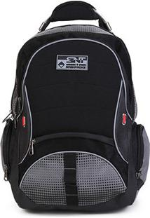 Mochila Seanite Authentic Sport - Unissex-Preto