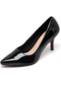 Scarpin Casual Bellatrix Preto