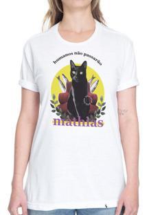 Humanos Não Passarão - Camiseta Basicona Unissex