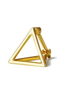 Shihara Par De Brincos 'Triangle 10' - Metálico