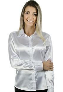 Camisa Pimenta Rosada Isidore - Feminino-Branco