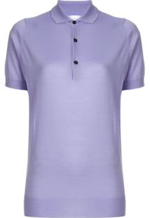 R  5312,00. Farfetch Victoria Beckham Camisa Polo Com Botões ... c0fbc5a59e