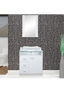 Conjunto De Banheiro Classic Branco