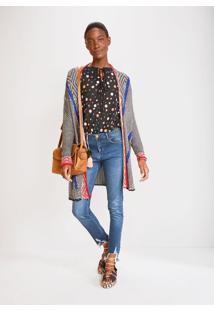 Calça Jeans Skinny Cintura Média Comfort Jeans