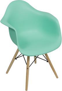 Cadeira Moderna Com Base Em Madeira 1120-Or Design - Tifany