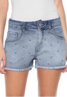 38e5ea32e3 Dafiti. Short Feminino Jeans Hering ...