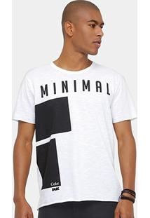 Camiseta Coca-Cola Minimal Masculina - Masculino