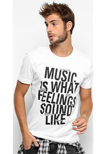 Camiseta Triton Music Masculina - Masculino