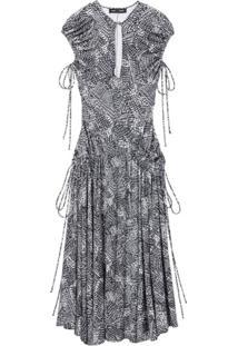 Proenza Schouler Vestido Sem Mangas - Preto