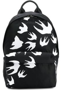 Mcq Alexander Mcqueen Swallow Backpack - Preto