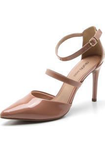 Scarpin Dafiti Shoes Liso Marrom - Marrom - Feminino - Dafiti