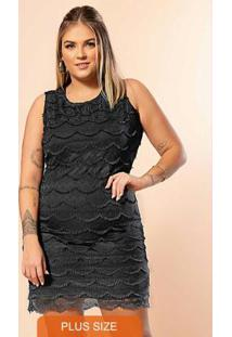 Vestido Secret Glam Preto