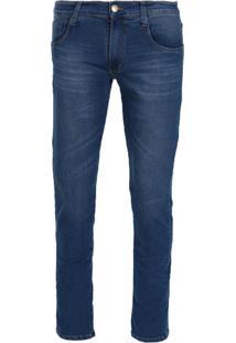 Calça Jeans Masculina Reta Dyjoris