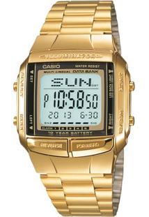 Relógio Casio Vintage Db-360G-9A - Feminino-Dourado