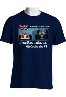 Camiseta Fórmula Retrô Vintage Donington 1993 - Masculino
