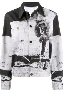 Calvin Klein Jeans Est. 1978 Moon Landing Denim Jacket - Preto