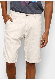 Bermuda Ecko Walk Slim Estampa Masculina - Masculino
