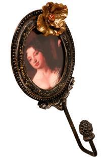 Porta-Retrato De Metal Decorativo Com Gancho Belle