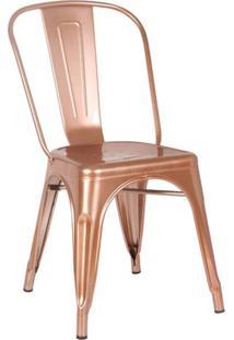 Cadeira De Cozinha Iron Cobre
