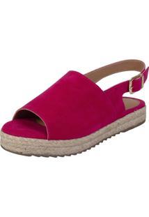 Sandália Flatform Dona Madame Alto Verão Pink