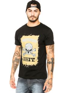 Camiseta Pretorian Break It Preta
