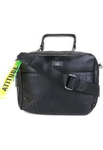 Bolsa Gio Antonelli Mini Bag Alça Transversal Feminina - Feminino-Preto