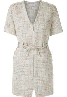 Olympiah Vestido 'Domo' Tweed - Neutro