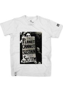 Camiseta Stoned The System Masculina - Masculino-Branco