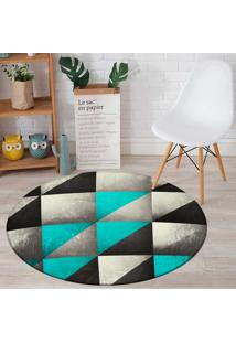 Tapete Love Decor Redondo Wevans Geometric 84Cm