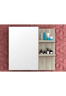 Armário Para Banheiro Malbec Barrique/Argento Bosi