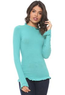 Blusa Colcci Lisa Azul