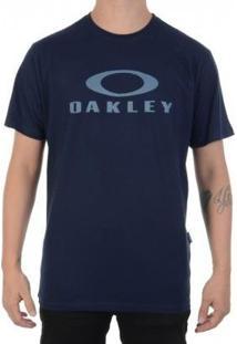 Camiseta Oakley Logo Tee - Masculino-Azul